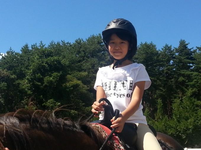 八ヶ岳で乗馬体験♪