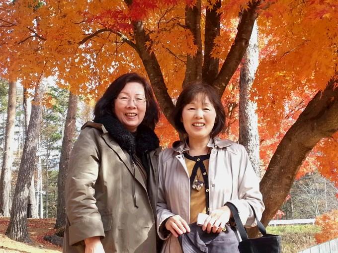 山梨の紅葉も素敵でした